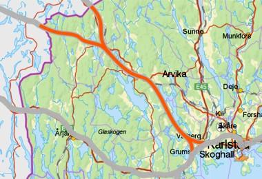 Magnor - Karlstad og Setskog - Karlstad