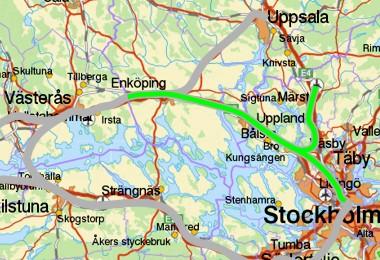 Enköping - Stockholm / Arlanda