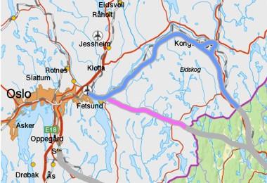 Lillestrøm - Kongsvinger - Magnor og Lillestrøm - Bjørkelangen - Setskog